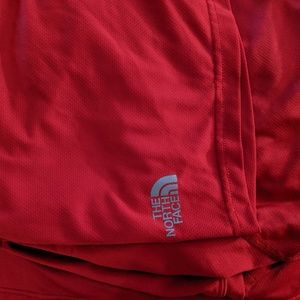 The North Face men's red athletic t-shirt xxl